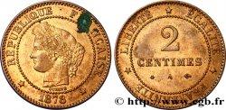2 centimes Cérès 1878 Paris F.109/3 AU58