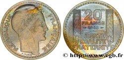 Essai de 20 francs Turin en cupro-nickel 1945 Paris Maz.2745 MS65