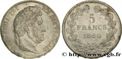 5 francs IIe type Domard 1840 Paris F.324/83 MBC50