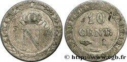 10 cent. à lN couronnée 1810 Limoges F.130/22 TTB48