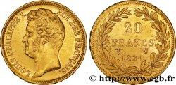 20 francs or Louis-Philippe, Tiolier, tranche inscrite en relief 1831 Lille F.525/5 TTB45