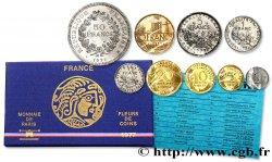 Boîte Fleur de Coins 1977 Paris F.5000/22 MS70