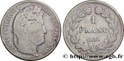 1 franc Louis-Philippe, couronne de chêne 1835 Lyon F.210/42 F12