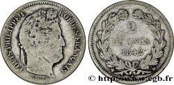 2 francs Louis-Philippe 1842 Strasbourg F.260/89 TB  22