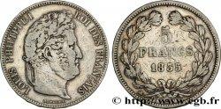 5 francs IIe type Domard 1835 Lyon F.324/45 TB30
