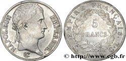 5 francs Napoléon Empereur, Empire français 1814 Gênes F.307/79 XF48