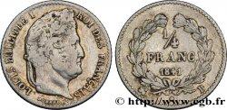 1/4 franc Louis-Philippe 1841 Rouen F.166/86 VF22