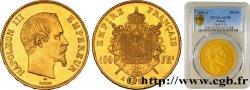 100 francs or Napoléon III, tête nue 1856 Paris F.550/3 PCGS AU58
