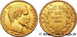 20 francs or Napoléon III, tête nue 1856 Paris F.531/9 TTB42