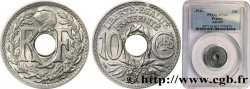 10 centimes Lindauer en zinc, Cmes souligné et millésime avec points 1941  F.140/2 FDC66 PCGS