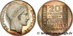 Essai de 20 francs Turin en argent 1939 Paris G.853