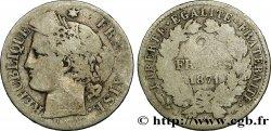 2 francs Cérès, avec légende 1871 Paris F.265/4 B  10