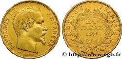 20 francs or Napoléon III, tête nue 1856 Paris F.531/9 TTB45