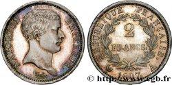2 francs Napoléon Empereur, tête de nègre 1807 Paris F.253/1