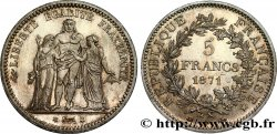5 francs Hercule 1871 Paris F.334/2