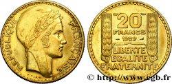 Essai de 20 francs Turin en bronze-aluminium 1929 Paris GEM.199 5 SUP60