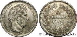 5 francs IIe type Domard 1832 Rouen F.324/2 TTB  52