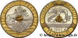 20 francs Mont Saint-Michel 1993 Pessac F.403/7 TTB50