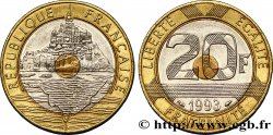 20 francs Mont Saint-Michel 1993 Pessac F.403/7 AU50