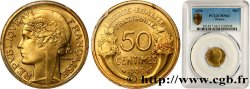 50 centimes Morlon 1936  F.192/12 SPL64 PCGS