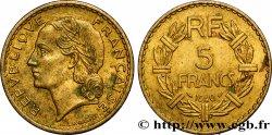 5 francs Lavrillier, bronze-aluminium 1940  F.337/4 VF  45