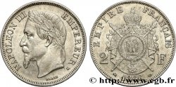 2 francs Napoléon III, tête laurée 1866 Bordeaux F.263/3 XF48