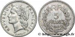 5 francs Lavrillier, aluminium 1945 Castelsarrasin F.339/5 VF30