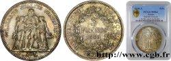 5 francs Hercule, IIe République 1848 Paris F.326/1 MS64 PCGS