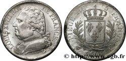 5 francs Louis XVIII, buste habillé 1815 Bayonne F.308/23 SUP+