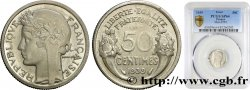 Essai de 50 centimes Morlon en nickel 1939  GEM.84 8 PCGS SP64