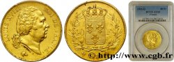 40 francs or Louis XVIII 1816 Perpignan F.542/4 PCGS AU55