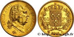 40 francs or Louis XVIII 1816 Perpignan F.542/4 TTB+