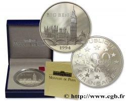 Belle Épreuve 15 écus / 100 francs - Big Ben (Londres) 1994 Paris F5.2007 1 ST