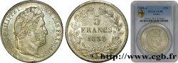 5 francs IIe type Domard 1838 Paris F.324/68 VZ58 PCGS