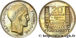 Essai de 20 francs Turin, en cupro-nickel 1939 Paris GEM.200 11 FDC  65