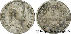 1 franc Napoléon Ier tête laurée, République française 1808 Strasbourg F.204/4 TTB  48