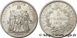 5 francs Hercule 1872 Paris F.334/6 XF48