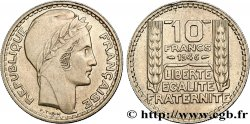 10 francs Turin, grosse tête, rameaux longs 1946 Paris F.361/3 TTB50
