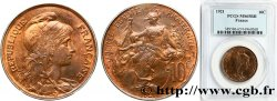 10 centimes Daniel-Dupuis 1921  F.136/30 FDC65 PCGS