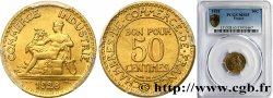 50 centimes Chambres de Commerce 1928 Paris F.191/10 FDC65 PCGS