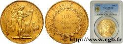 100 francs génie tranche inscrite en relief Dieu protège la France 1894 Paris F.552/10 PCGS MS64