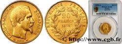 20 francs or Louis-Napoléon 1852 Paris F.530/1 SUP55 PCGS