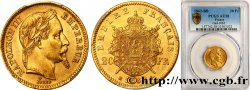 20 francs or Napoléon III, tête laurée 1862 Strasbourg F.532/5 SUP58 PCGS