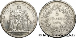 5 francs Hercule 1873 Paris F.334/9 SUP