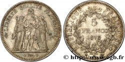 5 francs Hercule 1873 Paris F.334/9 TTB