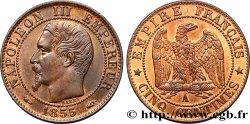 Cinq centimes Napoléon III, tête nue 1855 Paris F.116/16 SPL64
