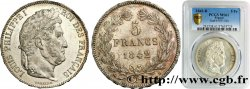 5 francs IIe type Domard 1842 Rouen F.324/96 SPL55