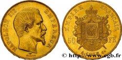 50 francs or Napoléon III, tête nue 1856 Paris F.547/3 SUP55