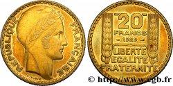 Essai de 20 francs Turin en bronze-aluminium 1929  GEM.199 5 SUP60