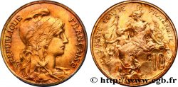 10 centimes Daniel-Dupuis 1898  F.136/5 TTB52
